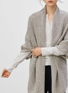 Simple + Chic Draped Sweater Neuletakit fd83bebddd