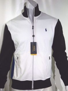 Polo Ralph Lauren interlock track jacket size xl  100% cotton NEW on SALE #PoloRalphLauren #trackjacket