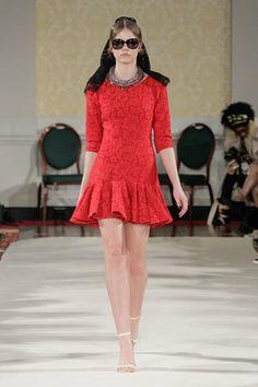 Valentina Dress - A/W14 Collection #LFW #chic #womenswear #pattern
