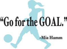 Wall Decal  Mia Hamm Quote by designwithvinyl on Etsy, $19.95