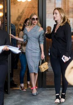 Kate Bosworth seen in the streets of Manhattan outside Monse during New York Fashion Week on September 8 2017 in New York City