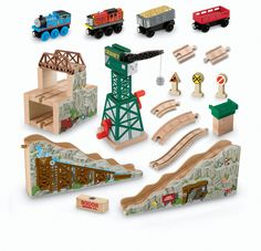 Thomas Wooden Railway - Deluxe Roundhouse Fisher-Price,http://www ...