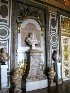 Bust of Louis XIV by Bernini, Versailles palace