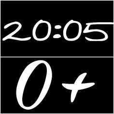 ~ 20:05 ~ ~ 0+ ~