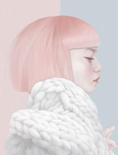 Hsiao-Ron Cheng is a Taiwanese digital artist and illustrator. Working as a freelance illustrator since she quickly get international attention. Art And Illustration, Animal Illustrations, Portrait Illustration, Fashion Illustrations, Illustrations Posters, Digital Portrait, Digital Art, Art Graphique, Freelance Illustrator