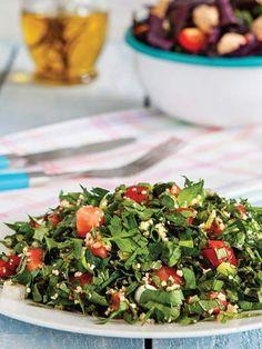 Tebbule Tarifi - Türk Mutfağı Yemekleri - Yemek Tarifleri