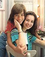 A dupla Sandy e Junior, filhos do cantor Xororó
