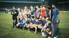 FC Barcelona, campeón Recopa de Europa 1989. Berna, Wankdorf Stadion, FC Barcelona, 2- Sampdoria, 0.