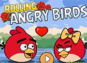 juegos rolling angry birds