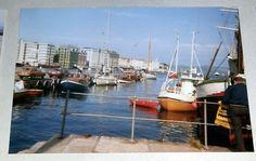 Vågen i Bergen, midt på 1970-talet. Foto: Olav Birkeland Bergen, Norway, History, Historia