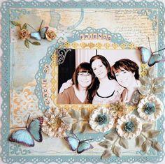 Circle Of Friends***Swirlydoos***.  By: LisaGregoryStarsailor.  Martha Stewart Crafts Punchs