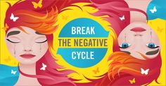 Break the negative cycle.  Get affordable online therapy for help in coping with life's ups and downs. #afflink, afflink
