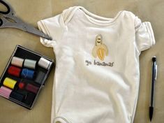 DIY: How to turn a baby onesie into a dog tee! | SheKnows.com