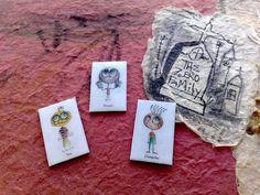 Magnets  Zeropumpkin character by zeropumpkin on Etsy, $24.00