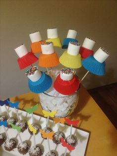 Süs Minnie Mouse Party, Mickey Mouse, Marshmallow Pops, Love Days, Birthdays, Baby Shower, Happy, Birthday Ideas, Pasta