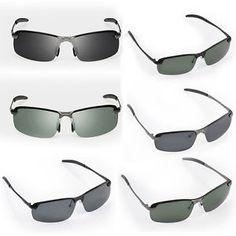 a gafas de sol hombre lentes polarizadas uv400 conduccion deporte al aire  libre Gafas De Sol 2fd772cd15a2