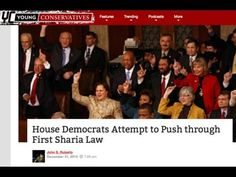 House Dems Vow To Implement First Sharia Law by passing House Bill 493! They are uninformed! |
