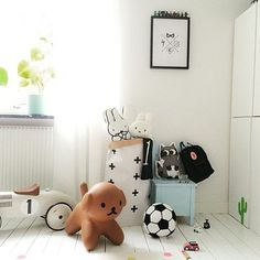 Always the most gorgeous room styling from @kidsdesignlife  I'm totally crushing on the bright fresh spaces and they are filled with goodness like dear Snuffy here xx  Snuffy can be preordered for December delivery ✔️ #scandinavianstyle