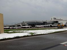 DFW  was paralysed following storms that produce over a dozen tornadoes and golf ball sized hail in April 2012