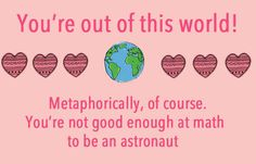15 Passive Aggressive Valentine's Day Cards I would've been crushed if someone would have given this to me. It's true but, crushed.