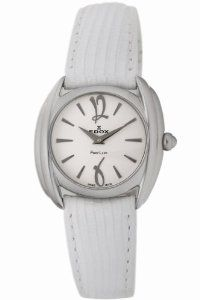 Edox Women's 21230 3 AIN First Lady Leather Watch