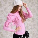 Suéter de dos Piezas de cuello alto