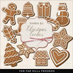 Far Far Hill-New Freebies Christmas Kit
