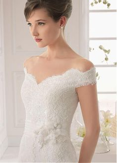 bridal dresses with off the shoulder sleeves - Google Search