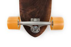 nudie boards handcrafts solid walnut pintail with engraved graphic