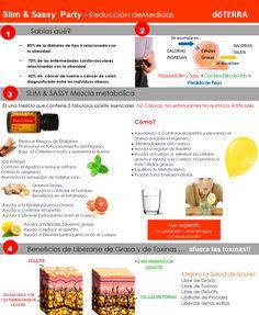 Mezcla Doterra para acelerar metabolismo bajar peso