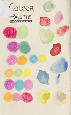 Sketchbook. Self Branding, Farm Animals, Palette, Illustration, Projects, Color, Pork, Palette Table, Colour