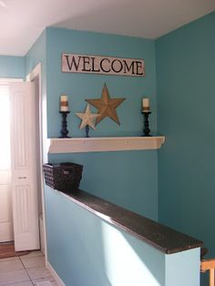 Benjamin Moore Blue Grass with 20 shots blue added.....The Complete Guide to Imperfect Homemaking: Frequently Asked Questions