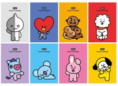 products used by bts & products used by bts ; bts used products Bts Chibi, Bts Kawaii, Bts Anime, Bts Book, Bts Birthdays, Study Planner, Bts Merch, Line Friends, Bts Drawings