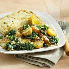 Kale and Potato Salad
