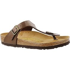 e127dbe387beee Birkenstock Gizeh BirkoFlor Sandal Womens Golden Brown BirkoFlor 380      This is an Amazon