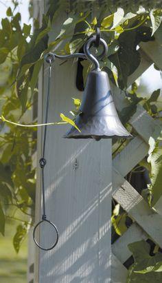 ACHLA Wrought Iron Bell | Wayfair