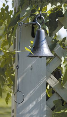 ACHLA Wrought Iron Bell | Wayfair