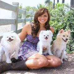 "Meet Laura Nativo,""The Fairy Dogmother"" is a dog trainer, television host, celebrity dog mom, super ocean athlete and passionate animal advocate! She is also one of the amazing keynote #speakers at #BlogPaws 2015 conference in #Nashville, TN. #educational"
