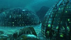 2050 CE - Undersea living complexes for humanity.