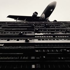 tumblr my0o640h9D1qkegsbo1 500 Random Inspiration 114 | Architecture, Cars, Girls, Style & Gear: Hong Kong, Inspiration, Airplane, Dmitry Alekseyev, Black White, Planes, Photography