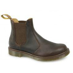 Dr Martens 2976 Unisex Classic Airwair Chelsea Boots DM Airwair Gaucho Brown