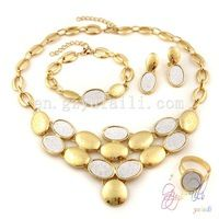 bridal african fashion gold plated wedding jewelry sets for brides