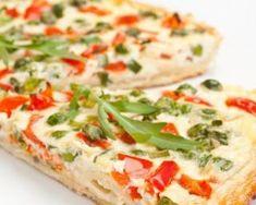 Quiche andalouse : http://www.fourchette-et-bikini.fr/recettes/recettes-minceur/quiche-andalouse.html