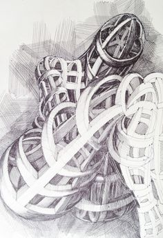 Human Architecture - Ink on paper - art drawing - Augusto Zerbi - www.augustozerbi.com