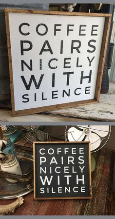 coffee signs Craft quotes funny so true wood signs 34 Ideas