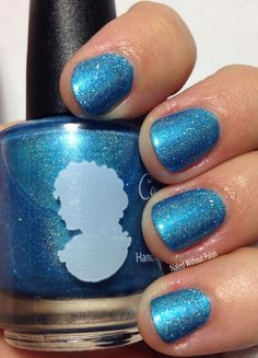 Cameo Colours Lacquers February Sky in direct light @CameoColoursLac