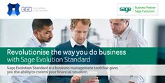 Revolutionise the way you do business! With SAGE ! Business Management, Sage, Evolution, Accounting, Stuff To Do, Salvia, Senior Management