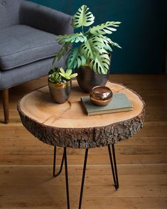 Gardens Discover holzscheiben deko Mid-Century Rustic Wood Slice End Table Natural Wood Coffee Table Diy Coffee Table Diy Table Rustic Table Wood Slice Coffee Table Wood Slab Table Rustic Wood Decor Natural Coffee Wood Logs Diy Coffee Table, Diy Table, Rustic Table, Wood Slice Coffee Table, Wood Slab Table, Stump Table, Tree Stump Side Table, Rustic Wood Decor, Crate Table