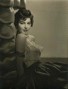 """Ava Gardner for """"Mogambo"""" (1953) photo by Virgil Apger"""