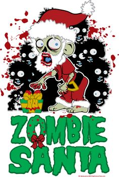 We wish you a very Zombie Christmas